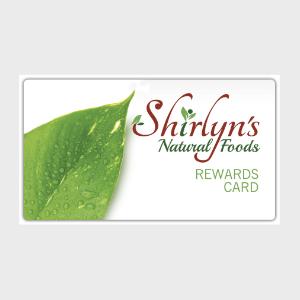 Shirlyns reward card